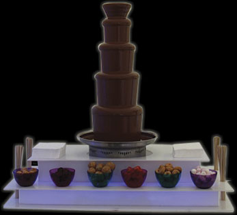 chocoloate fountain hire nottingham
