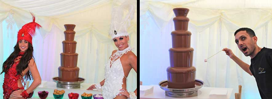 Chocolate Fountain Hire  Nottingham